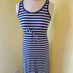 Old Navy Maxi Navy Blue Dress for Girls size 14